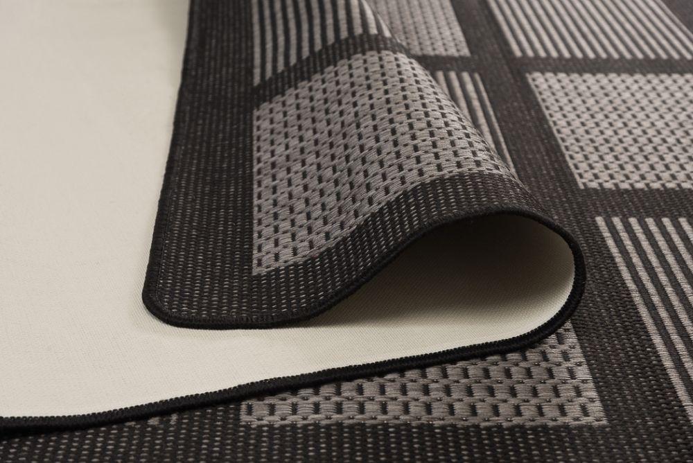 Brick Line Grey/Black 133x195