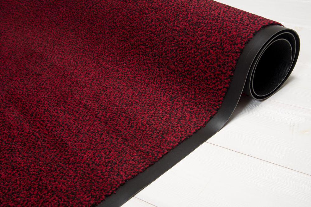 Clean punainen/musta 120x180