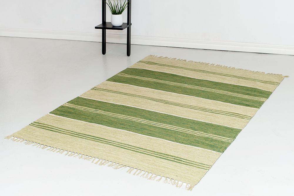 Herrgård vihreä 160x230