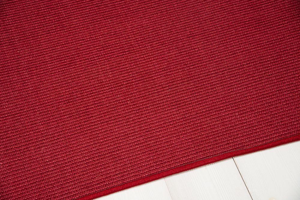 Sisal top Bouclé punainen