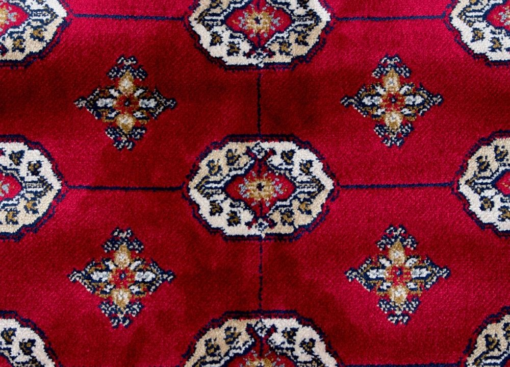 Boukhara Old Red 130x190