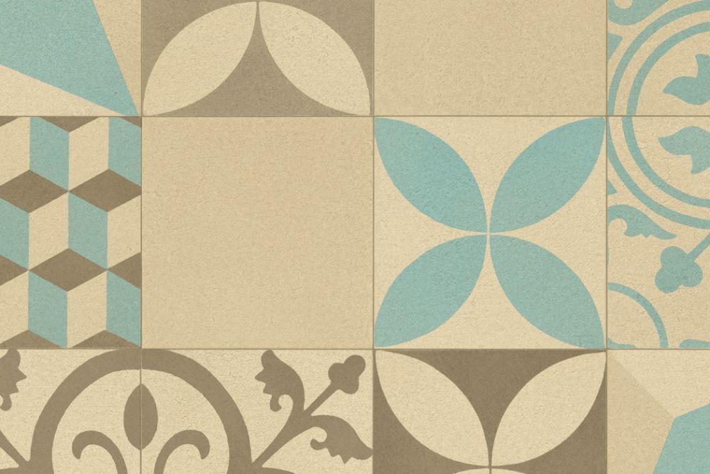Marrakech ruskea/beige/sininen
