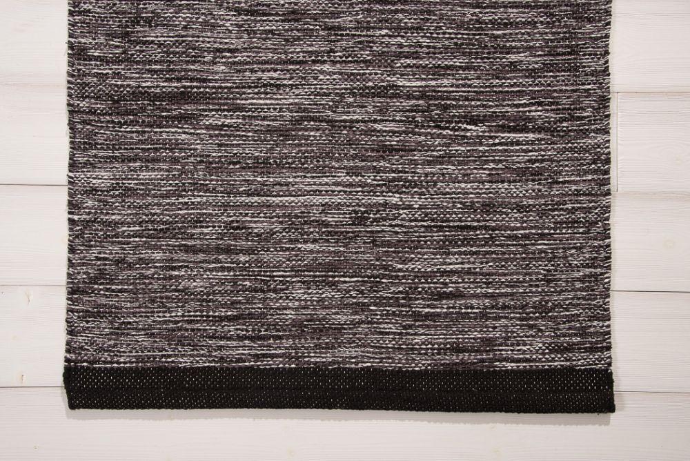 Heby musta-valkoinen 70x150
