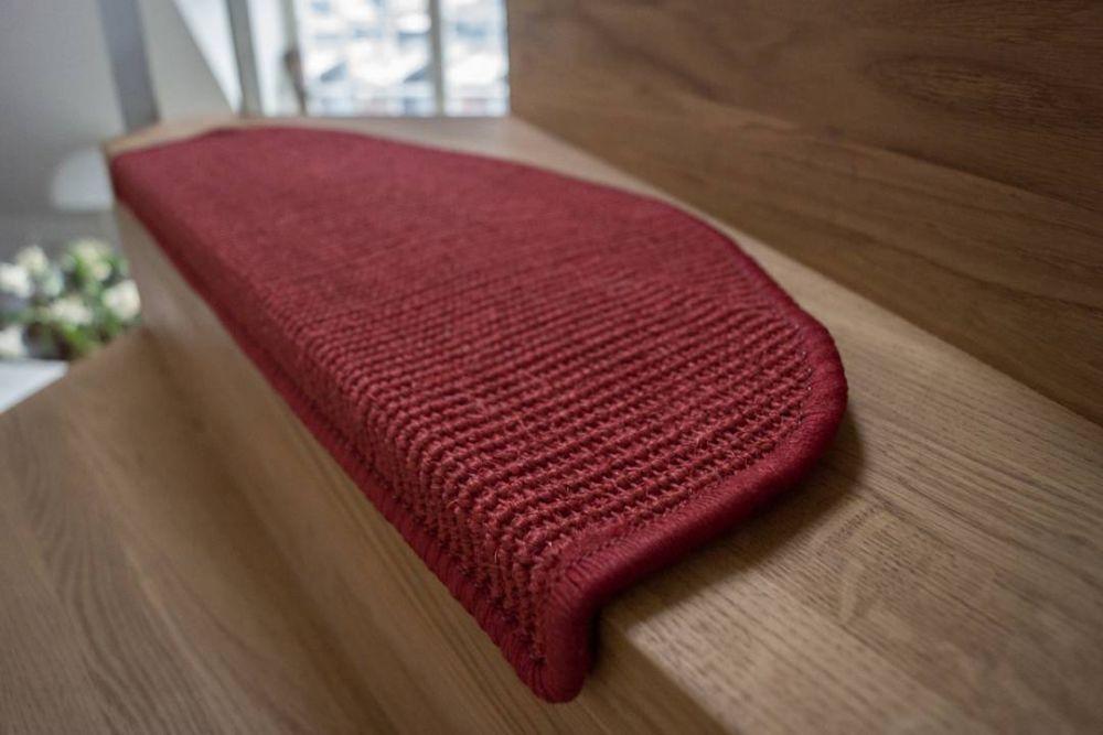 New Sisal Step punainen